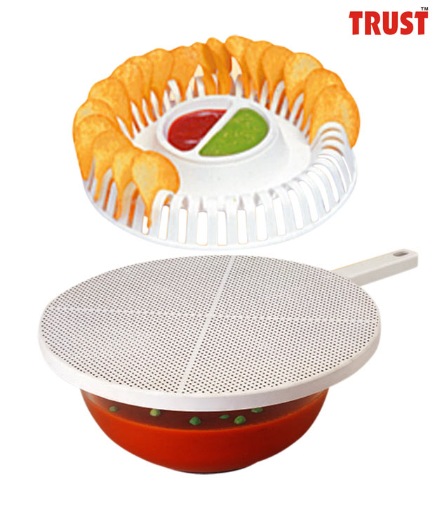 Trust Splatter Guard & Wafer Baker Set