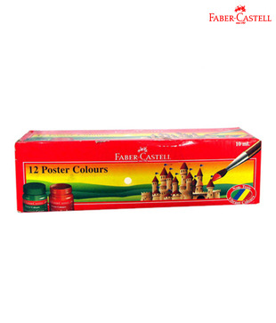 Faber Castell Poster Colors Regular (3 packs - 12 each)