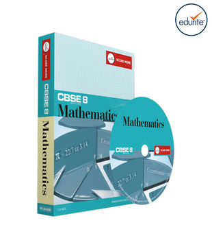 Edurite CBSE Class 8 Mathematics (1CD Pack)