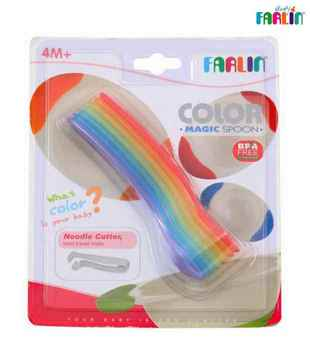 FARLIN Rainbow Spoon Set-Multi-Coloured-4 Months+