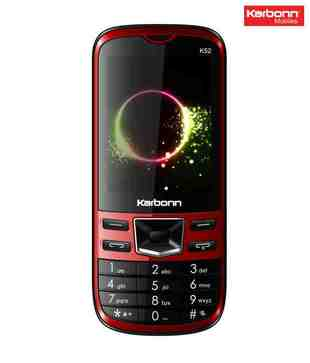 Karbonn K52 (Black Red)