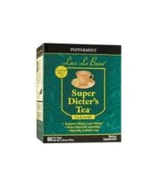 Laci Le Beau Peppermint Super Dieter's Tea Cleanse - 60 Tea Bags