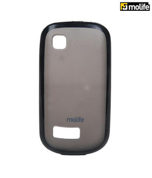 Molife Nokia-Asha200 Mobile Back Cover (M-MLP9082BK)