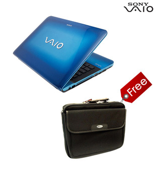 Sony Vaio E Series Laptop VPC-EA46FG (Blue)