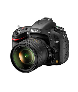 Nikon D600 24.3MP SLR (Black) (Body Only)
