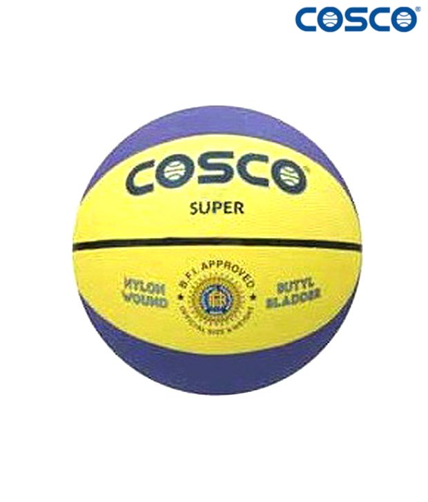 Cosco Super Multi Color Basketball  (Size 6)