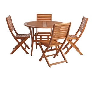 Outdoor furniture buying guide on snapdeal check out now - Natural wood outdoor furniture ...