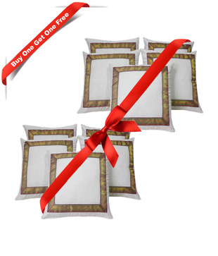 Set of 5 Beautiful Cushion Covers: Buy 1 Get 1 Free for Rs.599 at Snapdeal